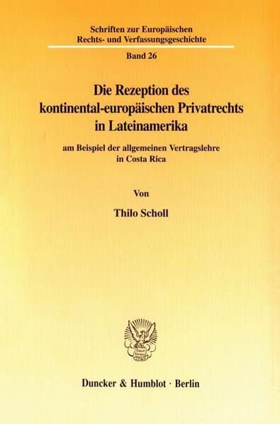 Die Rezeption des kontinental-europäischen Priv...