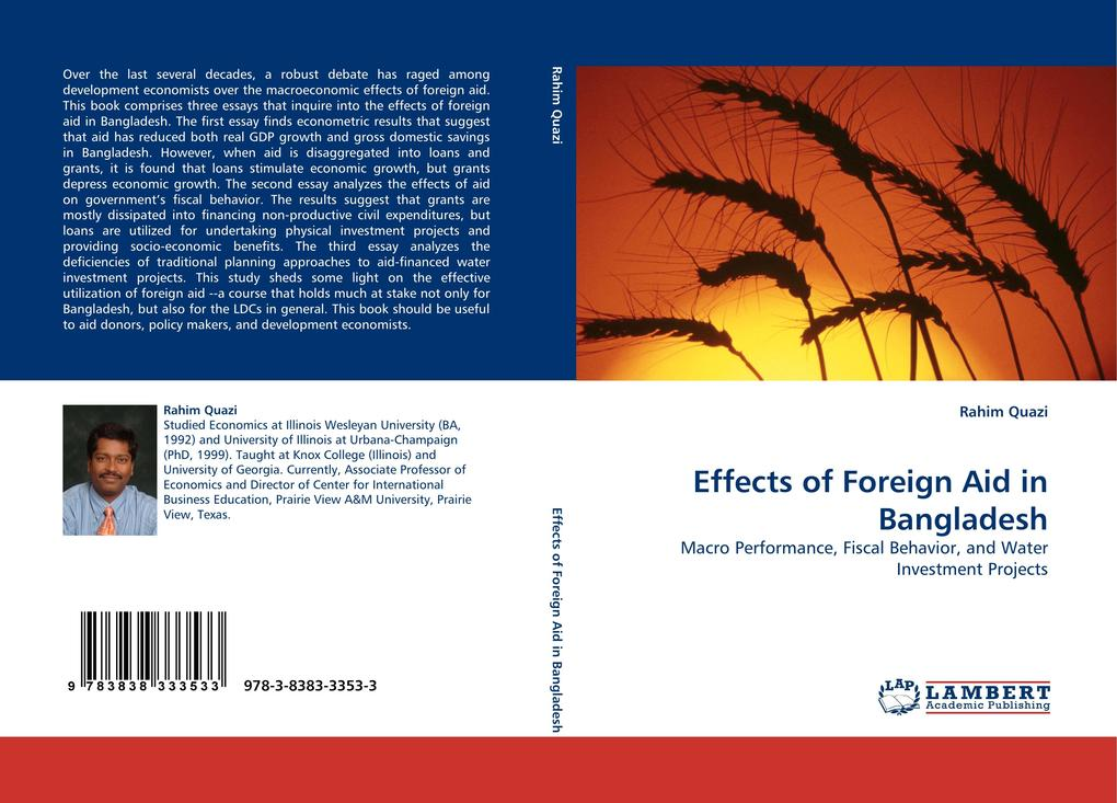 Effects of Foreign Aid in Bangladesh als Buch v...