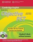 Cambridge Objective PET Without Answers [With CDROM]