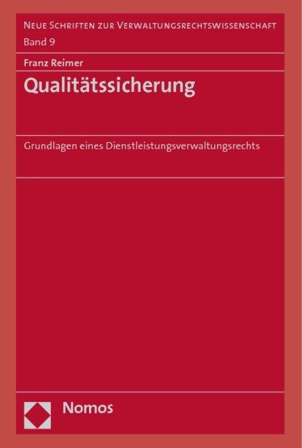 Qualitätssicherung als Buch von Franz Reimer