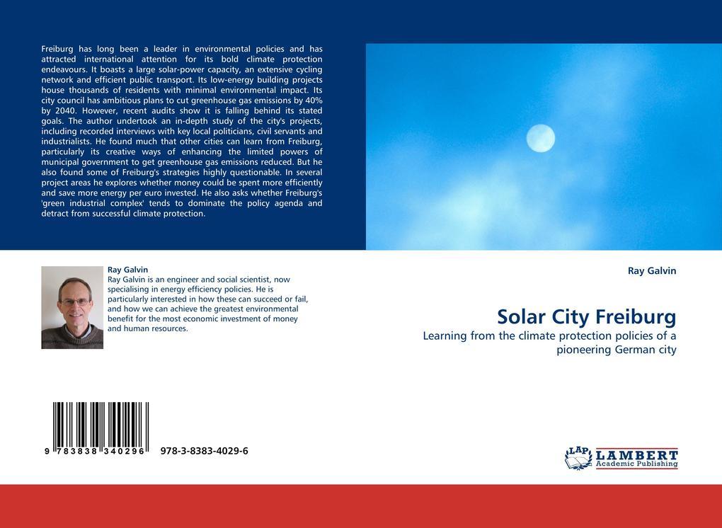 Solar City Freiburg als Buch von Ray Galvin