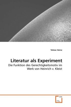 Literatur als Experiment als Buch von Tobias Heinz
