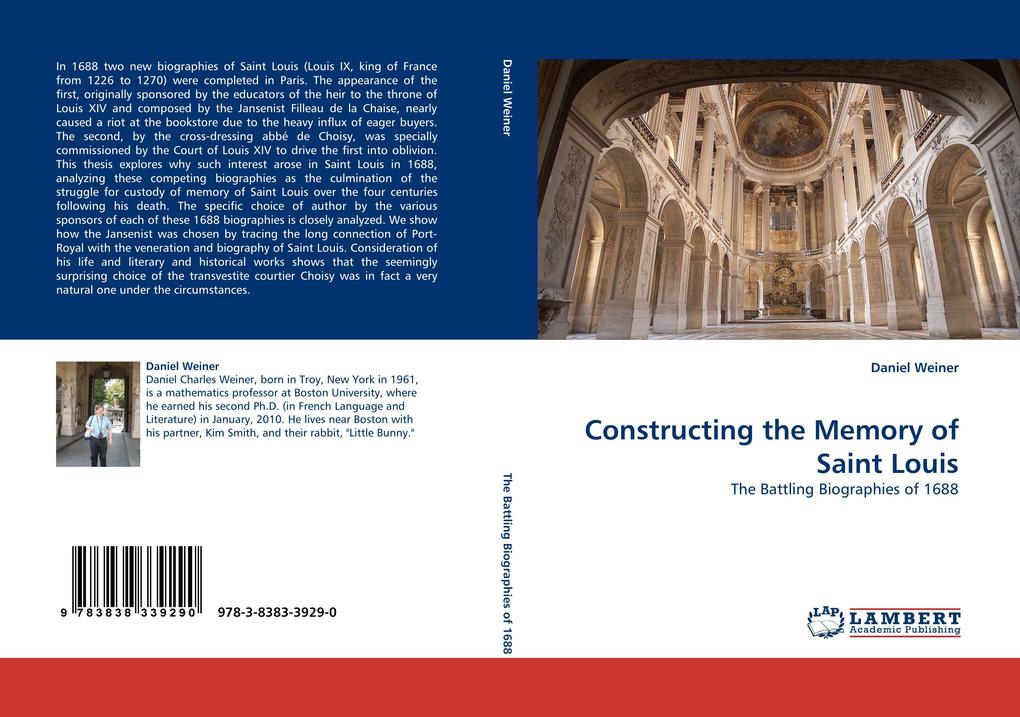 Constructing the Memory of Saint Louis als Buch...
