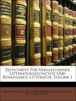 Zeitschrift Für Vergleichende Litteraturgeschic...