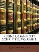 Kleine Gesammelte Schriften, Erster Theil