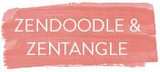 Zendoodle, Zentangle, Zencolor