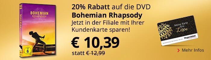 Bohemian Rhapsody - mit Kundenkarte in der Filiale mit 20% Rabatt sichern