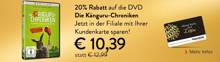 Die Känguru-Chroniken - mit Kundenkarte 20% in der Filiale auf die DVD sparen!