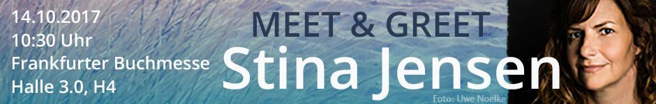 Meet & Greet mti Stina Jensen auf der Frankfurter Buchmesse