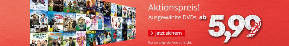 DVDs ab € 5,99 - jetzt sichern