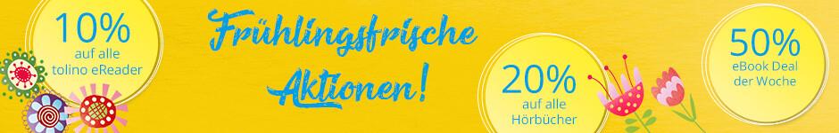 Oster-Aktionen in allen Filialen und auf Hugendubel.de