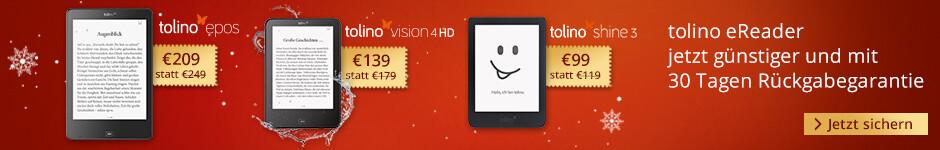 Verschenken Sie digitale Lesefreude mit tolino eReadern