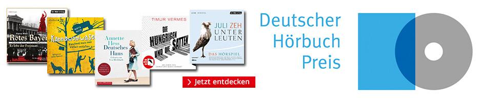Die besten Hörbücher: Deutscher Hörbuchpreis 2019 bei Hugendubel