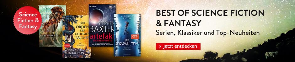 Best of Science Fiction & Fantasy: Serien, Klassiker und die besten Neuheiten bei Hugendubel