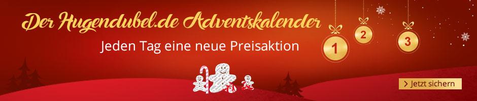 Der Hugenduubel.de Adventskalender - jeden Tag eine  neue Preisaktion