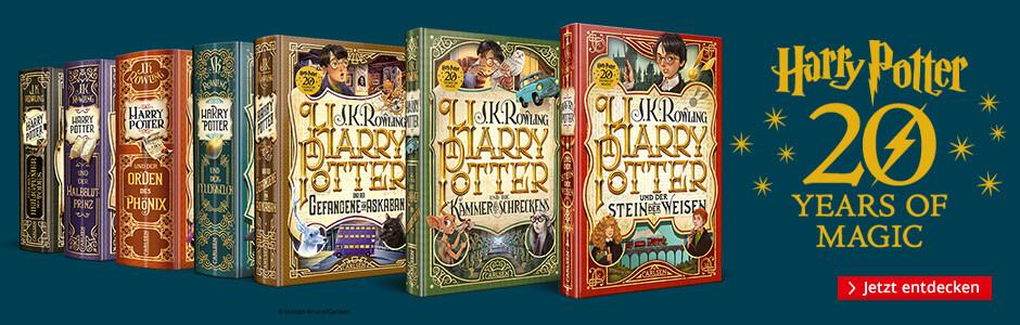Harry Potter - die neue Jubiläumsausgabe