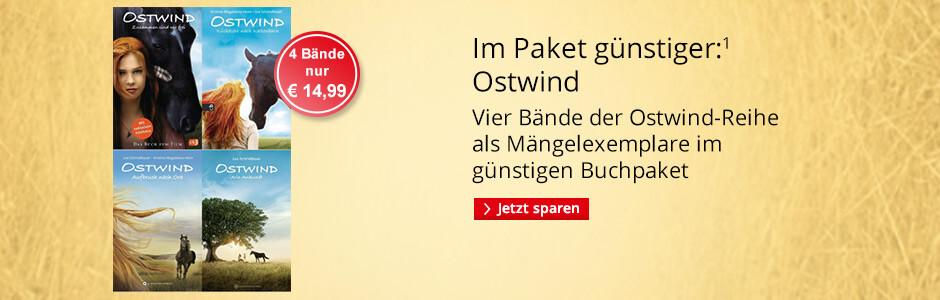 Ostwind - Vier Bände als Mängelexemplare im günstigen Paket