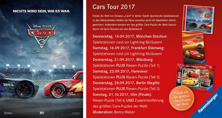 Die Cars Tour 2017 bei Hugendube