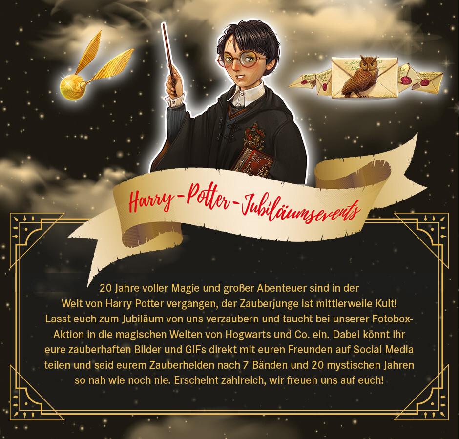 Harry Potter Veranstaltungen in unseren Filialen