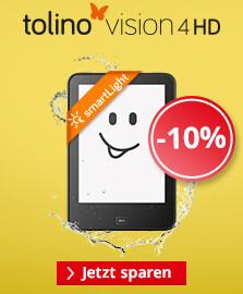 Sparen Sie jetzt 10% auf den tolino vision 4 HD