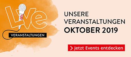 Veranstaltungen Oktober 2019