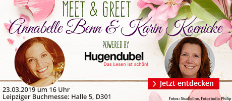 Meet & Greet mit Annabelle Benn & Karin Koenicke auf der Leipziger Buchmesse
