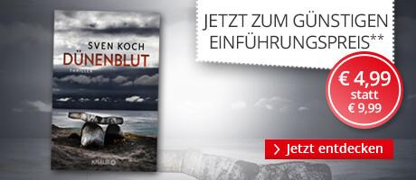 Zum Einführungspreis: Dünenblut von Sven Koch bei Hugendubel