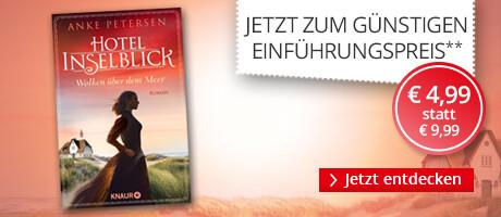 Zum Einführungspreis: Hotel Inselblick - Wolken über dem Meer von Anke Petersen bei Hugendubel