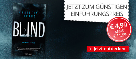 Zum Einführungspreis: Blind von Christine Brand bei Hugendubel