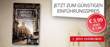 Zum Einführungspreis: Höhenangst von Nicci French bei Hugendubel