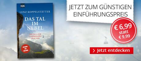 Zum Einführungspreis: Das Tal im Nebel von Lenz Koppelstätter bei Hugendubel
