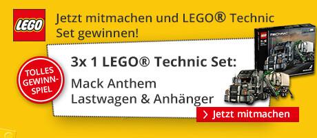 Jetzt ein tolles LEGO® Technic Set gewinnen!
