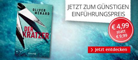 Zum Einführungspreis: Der Kratzer von Oliver Ménard bei Hugendubel