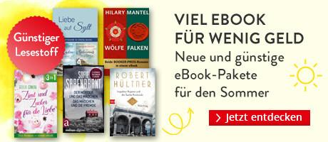 Viel eBook für wenig Geld: Neue eBook-Pakete für den Sommer bei Hugendubel