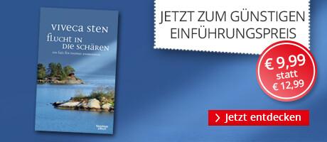 Zum Einführungspreis: Flucht in die Schären von Viveca Sten bei Hugendubel