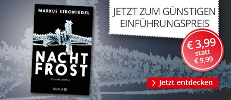 Zum Einführungspreis: Nachtfrost von Markus Stromiedel bei Hugendubel