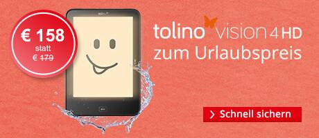 tolino vision 4 HD nur 158 EUR