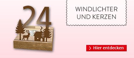 Adventskalender Windlichter & Co