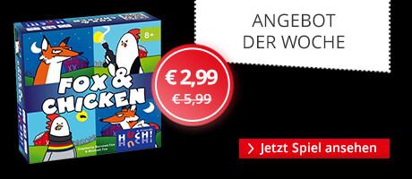 Unser Angebot der Woche: Fox & Chicken
