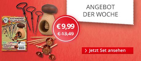 Unser Angebot der Woche: Kastanienschnitz-Set