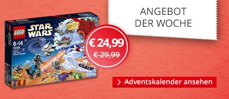 Unser Angebot der Woche: LEGO Star Wars Adventskalender