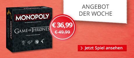 Unser Angebot der Woche: Game of Thrones Monopoly