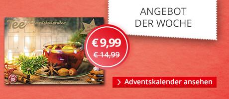 Angebot der Woche: Teekanne Tee Adventskalender
