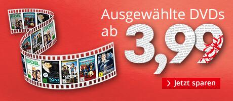 Aktions DVDs ab 3,99 EUR