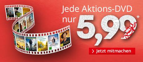 Ausgewählte DVDs nur 5,99 EUR