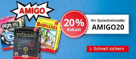 20% Rabatt auf AMIGO-Spiele