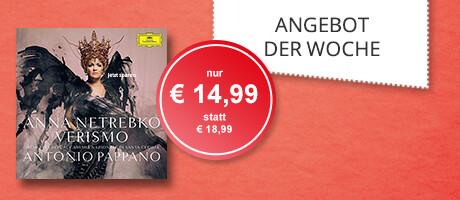 Angebot der Woche KW39 - Anna Netrebko, Verismo