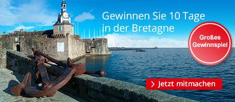 Gewinnen Sie eine Reise für zwei in die Bretagne auf den Spuren von Kommiaar Dupin