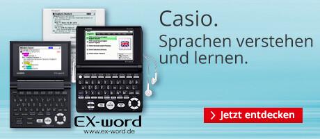 Casio: Sprachen lernen und verstehen
