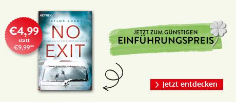 Zum Einführungspreis bei Hugendubel.de: No Exit von Taylor Adams